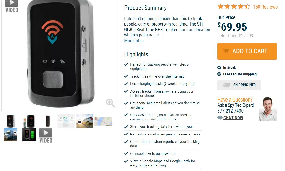 GPS Tracker Cost and Tracking Car at No Monthly Fee | GPS