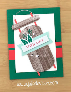 4 Alternative Winter Gifts Projects ~ Stampin' Up! Paper Pumpkin November 2019 ~ www.juliedavison.com