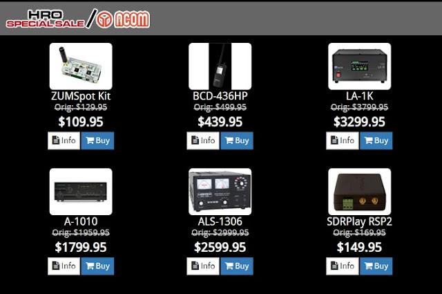 Ham Radio HRO Special Sale