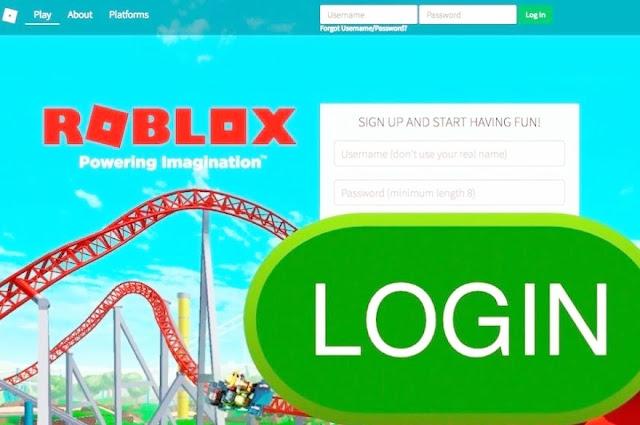 Roblox Login In 2020