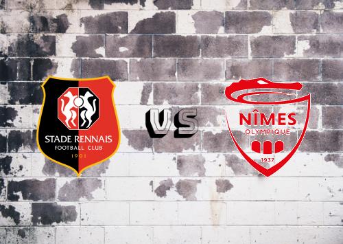 Rennes vs Nîmes   Resumen