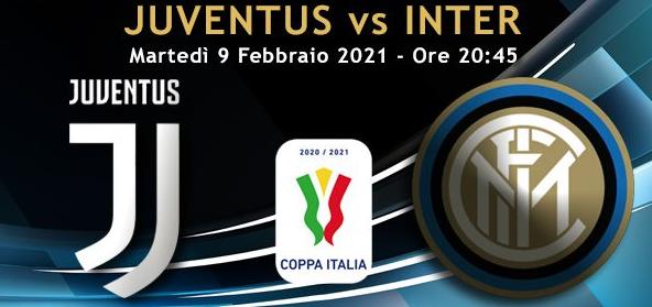 Calcio: Coppa Italia, Juventus-Inter, la partita sui canali Rai