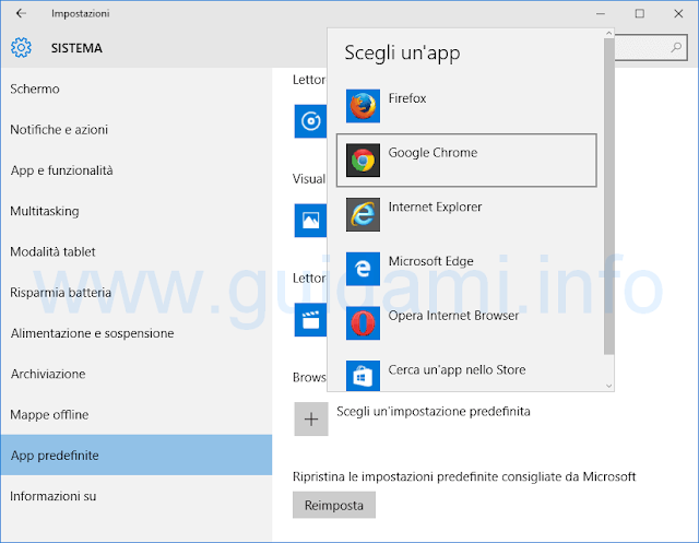 App predefinite Windows 10