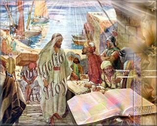 Resultado de imagen para Salió de nuevo por la orilla del mar, toda la gente acudía a él, y él les enseñaba
