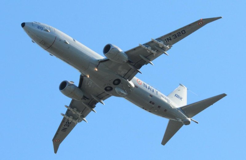 Indian Navy Boeing P 8I Aircraft IN 320 - 001 - TN