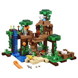 Minecraft The Jungle Tree House Lego Set