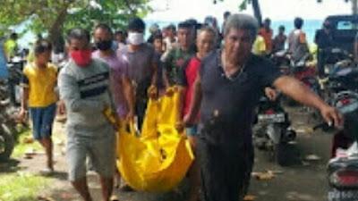 Heboh!!! Seorang Mayat Ditemukan di Pantai Manembo-nembo