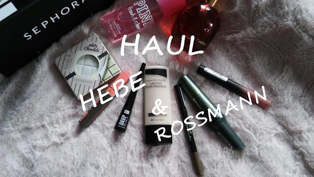 Promocja Rossmann + HEBE