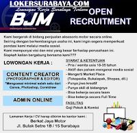 Open Recruitment at Berkat Jaya Motor Surabaya Agustus 2020