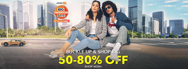 Jabong Big Fashion Days offer