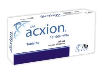 pastillas para adelgazar acxion fentermina
