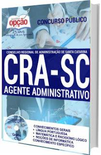 Apostila concurso CRA-SC 2017 Agente Administrativo