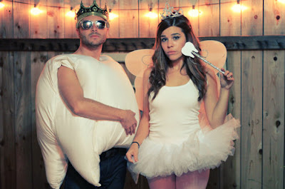 Cute Adorable Halloween Costume Ideas For Couples 2016 Cookie Monster Tooth Tooth Fairy
