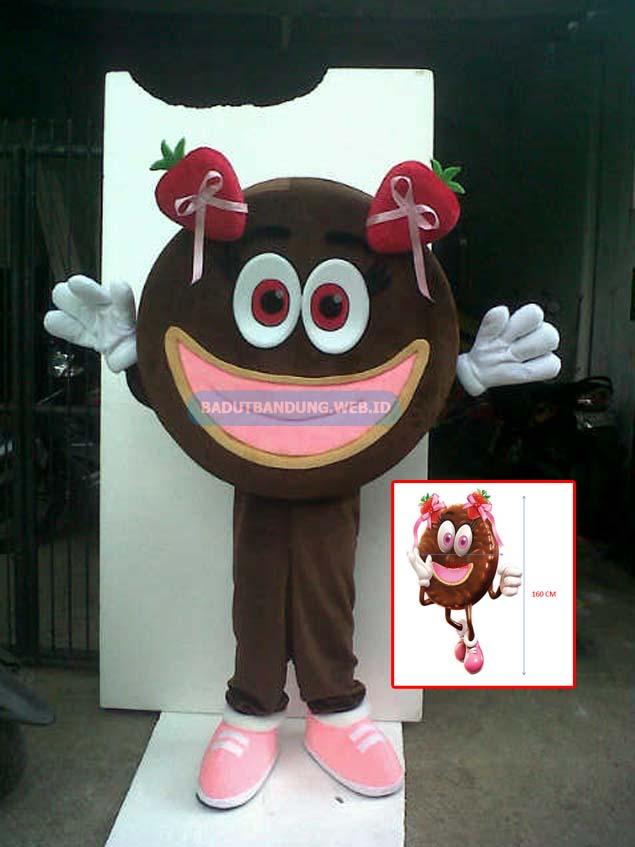 Gambar badut biskuit strowberry maskot much better
