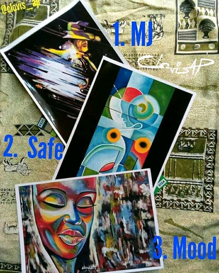 Clovis AP Store Promo - Buy Two Art Prints And Get  One Free - Michael Jackson, Safe, and Mood Art Prints - King Clovis AP The Artist