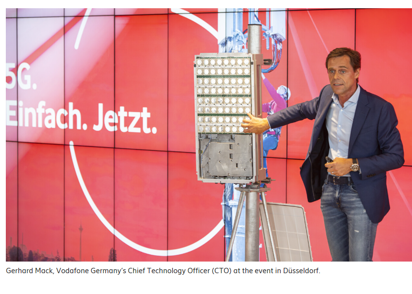Vodafone Germany activates 5G with Ericsson ~ Converge