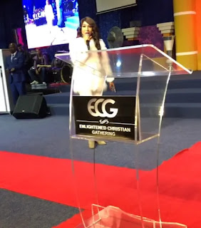 Photos/Videos of Tonto Dikeh ministering at a church in South Africa 3