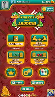 multiplayer online ular tangga