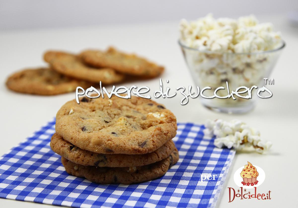 pop corn cookies biscotti con i pop corn tutorial passo a passo ricetta polvere di zucchero