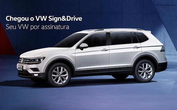 VW T-Cross 2021 por assinatura - preços