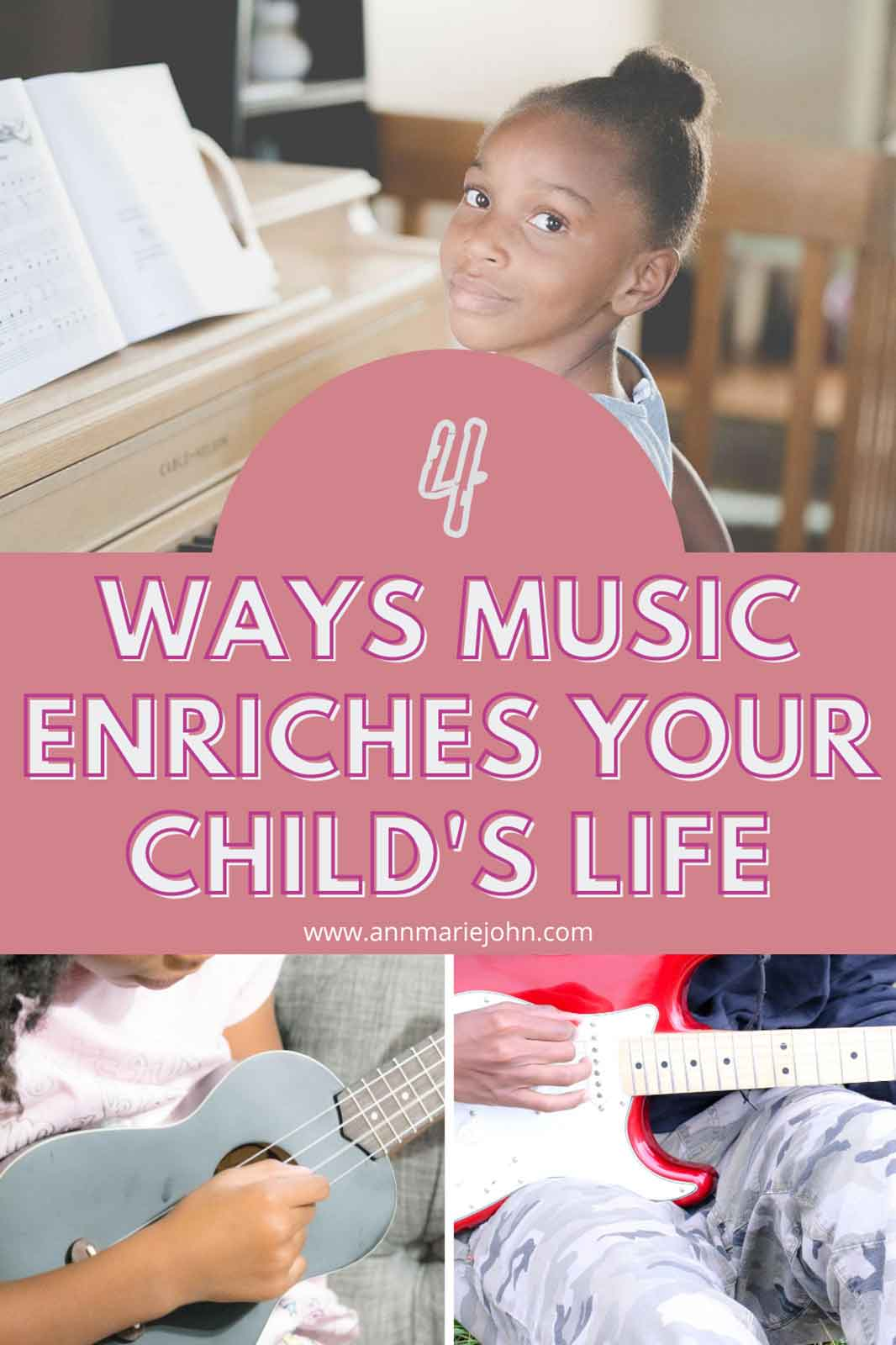 Ways that Music Can Enrich Your Child's Life