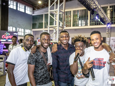 Poco Lee, Xtacy, Brainee, Kemen and more light up 2019 Nigerian Freestyle Football Championship Lagos Auditions