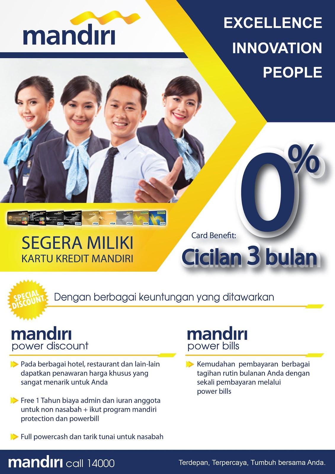 Desain Brosur Bank Mandiri by Yudi Prastiawan