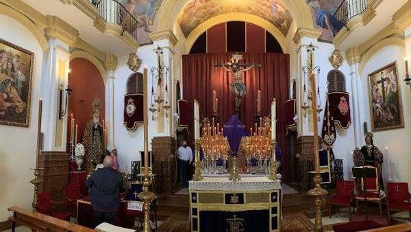 Actos y cultos del Martes Santo en Málaga 2021