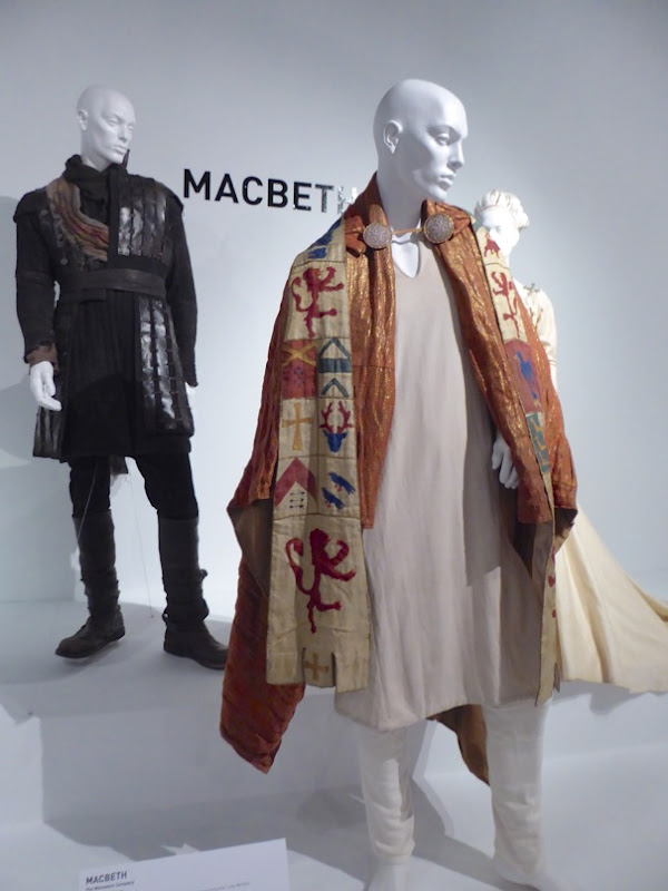 Michael Fassbender Macbeth film costumes