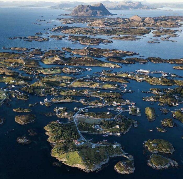 Archipelago in Norway
