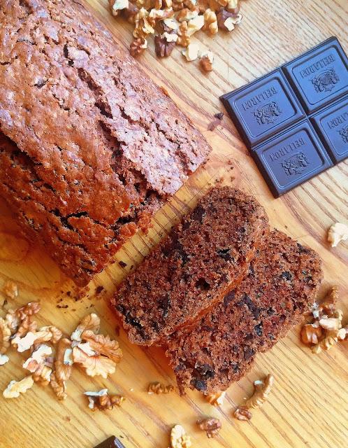 Ciasto z cukinią i czekoladą / Chocolate Chip Zucchini Bread