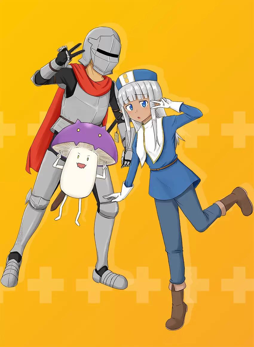 Plakat anime Kono Healer, Mendokusai