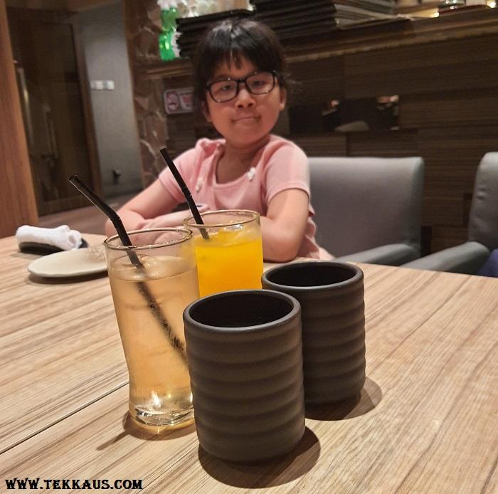 Wa Zen Drinks Menu Beverages