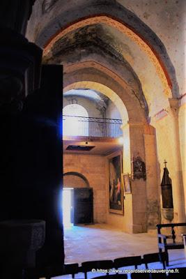 Eglise saint Nicolas de Nonette, Puy-de-Dôme.