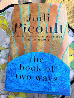 "Jodi Picoult's hardcover book, ""The Book of Two Ways."""