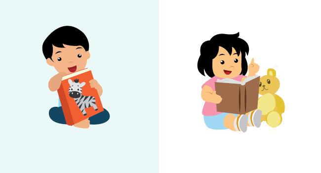 Tahap Perkembangan Membaca Pada Anak