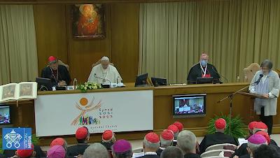 Screenshot Vaticanmedia 9.10.21