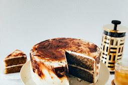 Vietnamese Iced Coffee Cake