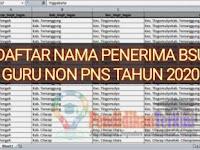 Download Daftar Nama Penerima BSU Guru Non PNS Tahun 2020
