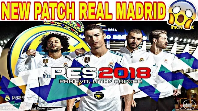 PATCH REAL MADRID FANS PES 2018 MOBILE (Android/IOS)