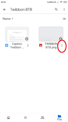 Cara Memasukkan Foto ke Twibbon Beasiswa