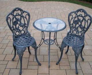Oakland Living Hummingbird 3-Piece Bistro Set