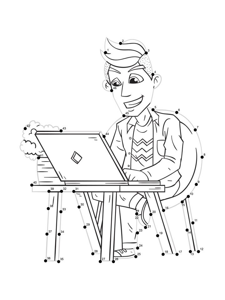 designer worksheet line tracing