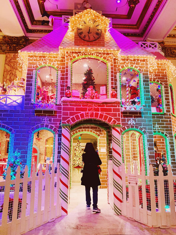 Christmas in San Francisco: The iconic Fairmont Hotel is famous for its life-sized gingerbread house