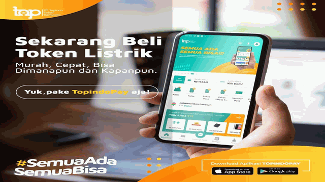 Daftar Harga Pulsa Listrik Token PLN Prabayar Topindopay