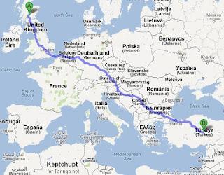 Túneis subterrâneos que atravessam a Europa uubr