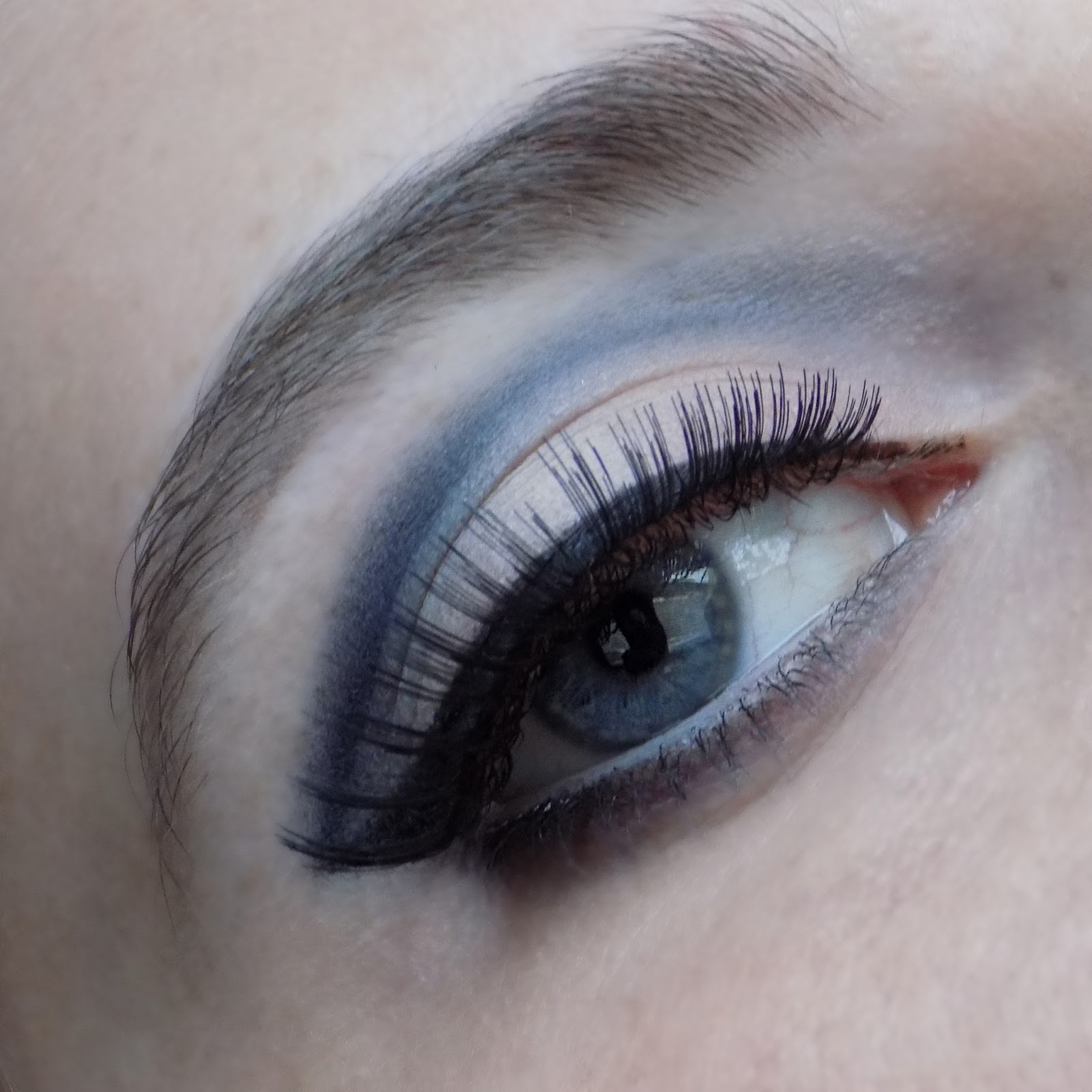 Close Up of Eye Make Up