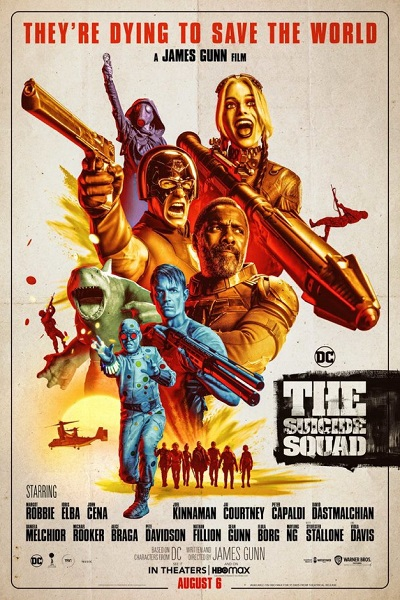Download The Suicide Squad (2021) Dual Audio [Hindi+English] 720p + 1080p BluRay ESubs