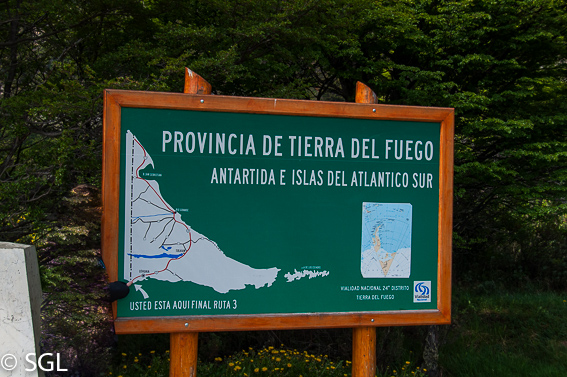 Parque Nacional Tierra del Fuego. Provincia de tierra del fuego