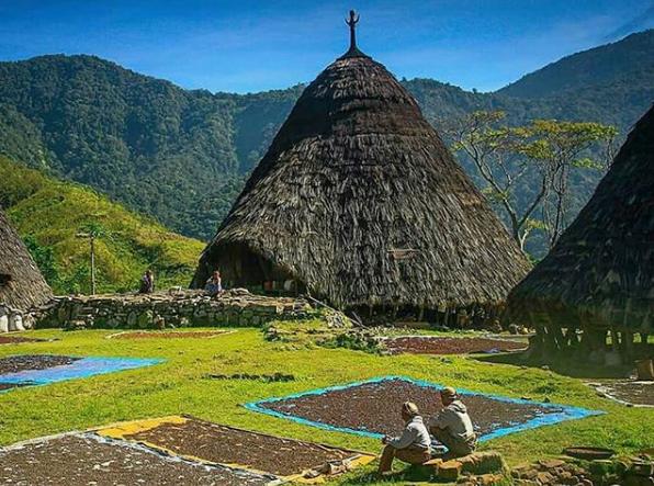 Desa Adat Wae Rebo   Pesona Indonesia dari Nusa Tenggara Timur